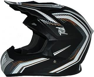 """Armor /· AKC-49 /""""Green/"""" /· Cross casque pour enfants /· MX Enduro Pocket-Bike Kids Sport Cross-Bike /· DOT certifi/é /· Click-n-Secure/™ Clip /· Sac fourre-tout /· XL 59-60cm green"""