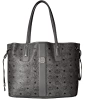 MCM - Reversible Liz Medium Shopper in Visetos