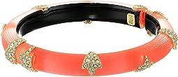 Alexis Bittar - Crystal Encrusted Skinny Studded Hinge Bracelet