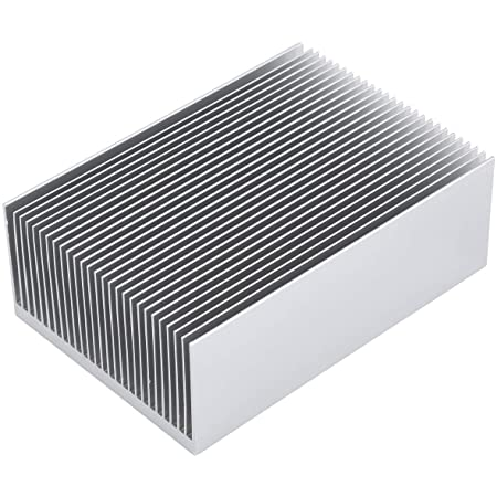 id:6fb 1d 1d 420 New Lon0167 5Pcs 28mm Featured x 28mm x reliable efficacy 11mm Aluminum Heatsink Heat Diffuse Cooling Fin Silver Tone