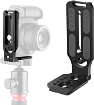 WLPREOE Camera L Shaped Bracket Quick Release Plate Universal DSLR Camera for Vertical Horizontal Switching with 1/4 Inch ...