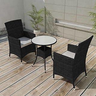 Amazon.es: mesa y sillas de jardin de rattan