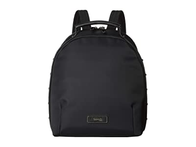 Lipault Paris Business Avenue Backpack Small (Jet Black) Backpack Bags