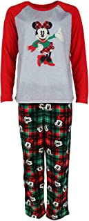 Women's Mickey and Minnie Mouse Holiday Family Sleepwear Collection