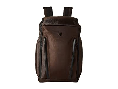 Victorinox Altmont Professional Fliptop Laptop Backpack (Dark Earth) Backpack Bags