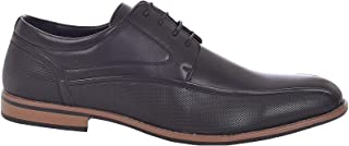 D555 Duke Mens Big & Tall Kingsize Vance Formal Smart Lace Up Oxford Shoes