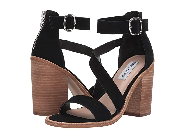 7fadfb997f Steve Madden Collins Heeled Sandals at Zappos.com