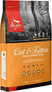 ORIJEN Cat & Kitten High-Protein, Grain-Free, Premium Quality Meat, Dry Cat Food