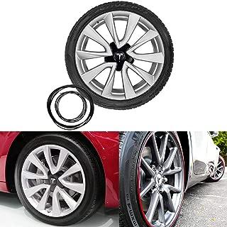 Motrobe Tesla Model 3 Wheel Band Kit Scratch Protection-Black