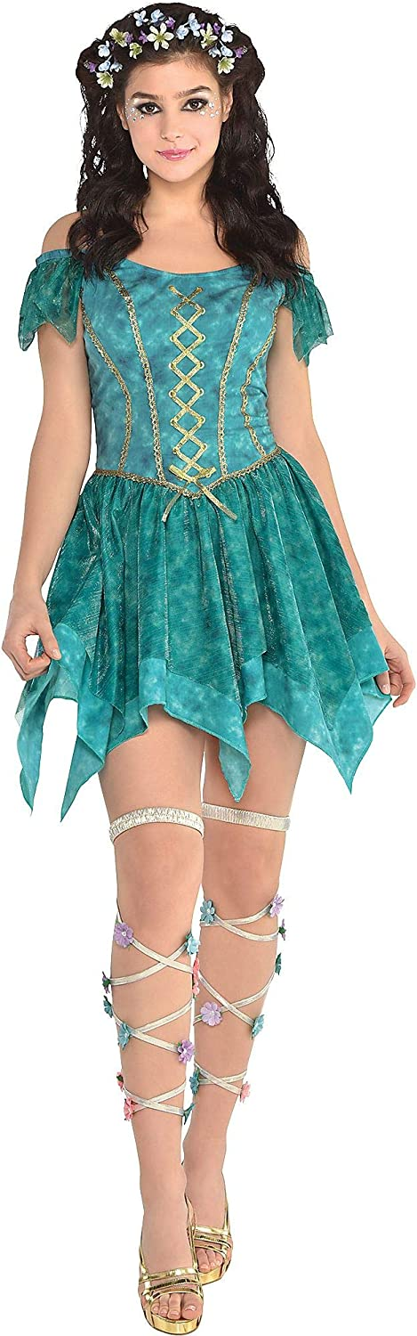 Adult Fairy Flowy 25% OFF Dress - One Price reduction Nymph Size Multicolor