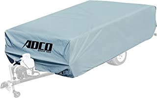 ADCO 2893 Pop Up Folding Trailer Polypropylene Cover, Fits 12'1