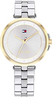 TOMMY HILFIGER CAMI WOMEN's SILVER DIAL WATCH - 1782360