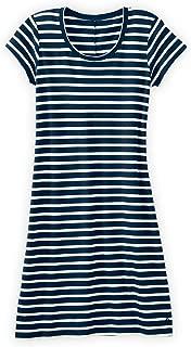 Fair Indigo Fair Trade Organic Scoop Neck T-Shirt Dress