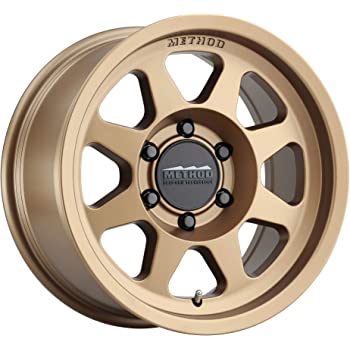 "Method Race Wheels 701 Method Bronze 17x8.5"" 6x5.5"", 0mm offset 4.75"" Backspace, MR70178560900"