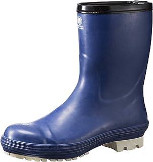 ミドリ安全 氷上で滑りにくい防寒安全長靴 FBH01 ネイビー 23.0cm FBH01-NV-23.0 防寒長靴