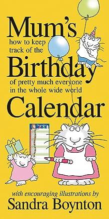 MUM compleanno del calendario di Sandra Boynton
