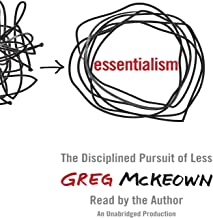essentialism the disciplined pursuit of less audiobook