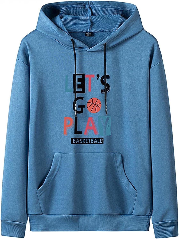 Men's Long Sleeve Hoodies Sweatshirts Casual Lightweight Pullover Fashion Novelty - Sports Fan Sweatshirts & Hoodies