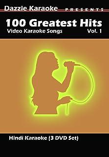 100 Greatest Hits Hindi Video Karaoke (3 DVD set)