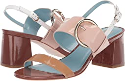 Dark Camel/Pink/Light Camel Soft Patent