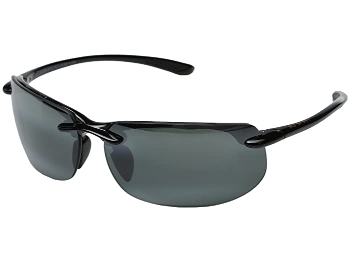 Banyans (Universal Fit) (Gloss Black/Neutral Grey Lens) Sport Sunglasses