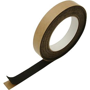 """J.V. Converting FELT-06/BLK0755 JVCC FELT-06 Polyester Felt Tape: 3/4"""" x 15 ft, Black"""