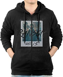 Mike Will Made It's 'Ransom' Mens Zip Up Pocket Fashion Hooded Sweatshirt