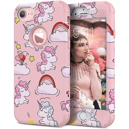 WE LOVE CASE Cover iPhone 6 / 6s 360 Gradi Full Body Protection Custodia e Silicone Morbido Shockproof Hybrid 3 in 1 Protettiva Protezione Coperture ...