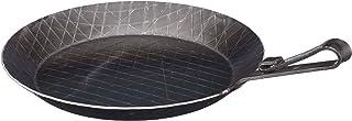Turk 65328 - Sartén de Hierro Forjado con Mango Plano doblado (28 cm)