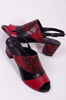 TARÇIN Hakiki Deri Klasik Günlük Kadın Topuklu Ayakkabı TRC71-0114