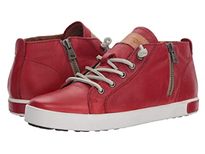 Blackstone Mid Sneaker JL24 (Claret Red) Women