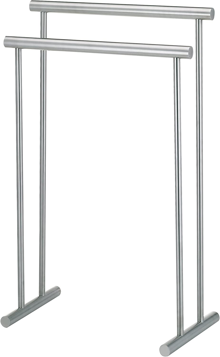 Kela 22690 Free Standing Towel Rack for Bathroom Priamo Collection, 22  Wide, Stainless Steel