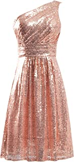Cocktail Dress Sequin Short Bridesmaid Dress Prom Party Dress Homecoming