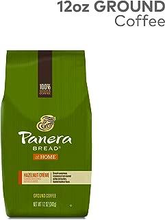 Panera Hazelnut Crème, Ground Coffee, Flavored Coffee, Bagged 12oz., 12 Ounce
