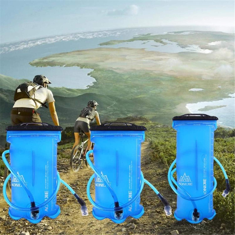BABIFIS 1.5L   2L   3L Outdoor Sport Laufen Faltbare TPU Wasserbeutel Trinkblase Camping Falten Wasser Halter