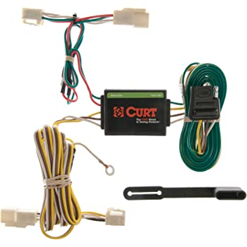 amazon.com: curt 55341 vehicle-side custom 4-pin trailer wiring harness for  select toyota 4runner: automotive  amazon.com