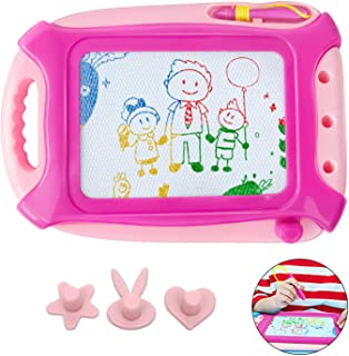 HAIMST Magnetic Drawing Board for Toddlers, Doodle Writing Board Painting Erasable Sketching Pad for Kids Travel Games Educational Toys, Travel Size