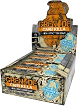 Grenade Carb Killa High Protein and Low Sugar Candy Bar, 12 X 60 g - White Chocolate Cookie
