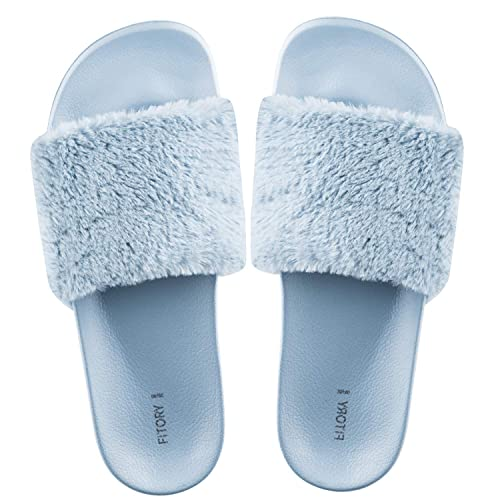 cda0bb821527 FITORY Ladies Sliders Slippers