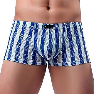 Goddessvan Men's Underwear Comfortable Breathable Briefs Low Rise Boxer