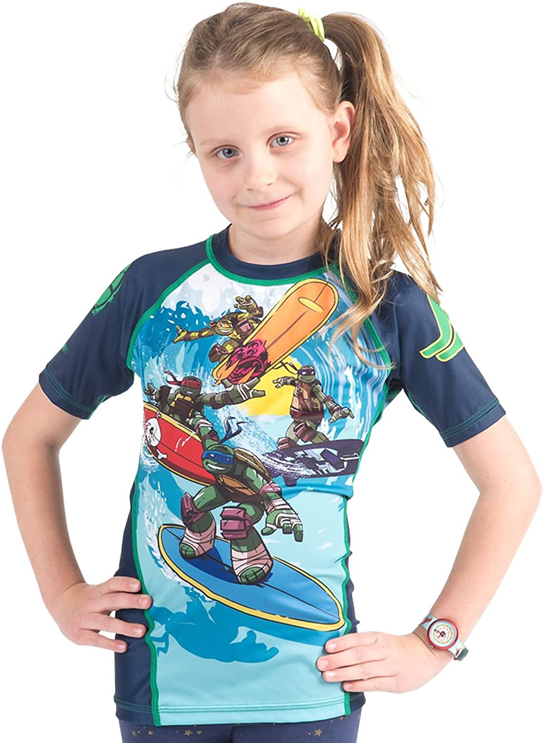 TMNT Kinder tmnt004 Kanalisation Surfin Rash Rash Rash Guard B01I21PS46  Einfach 74e076