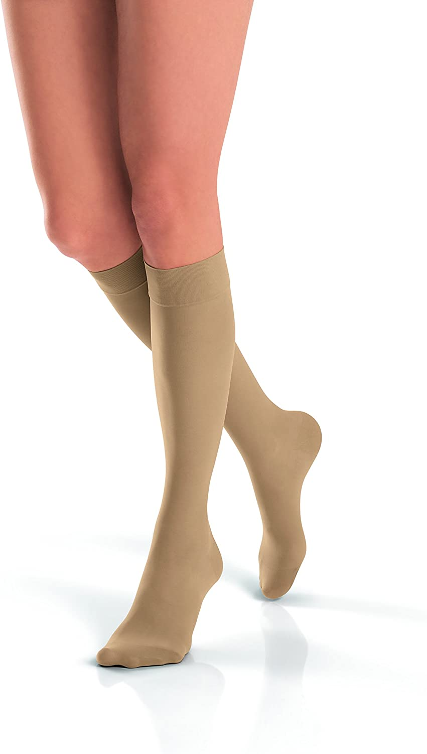 Jobst Women's UltraSheer Challenge the lowest Beauty products price Light Support Beige Knee W Highs Silky