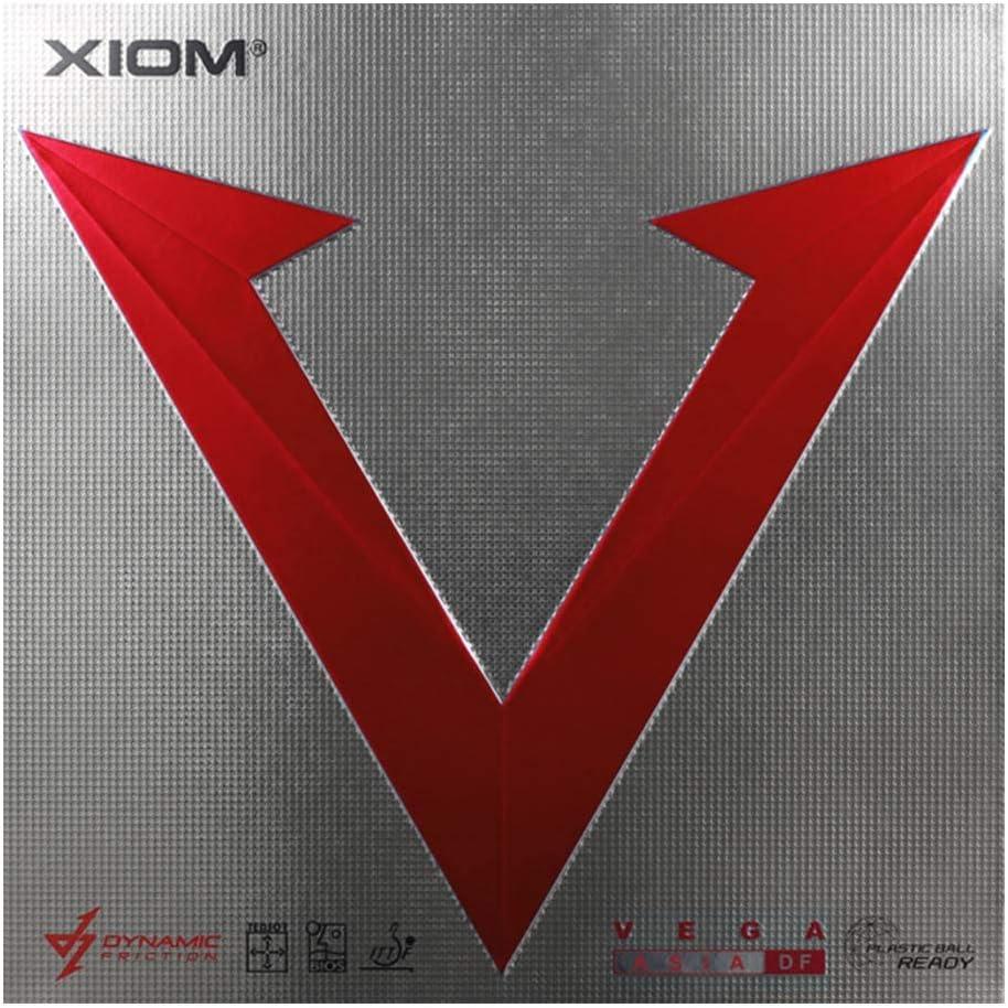 XIOM Bargain sale Vega Asia Genuine Free Shipping DF Black Max Table Tennis Rubber