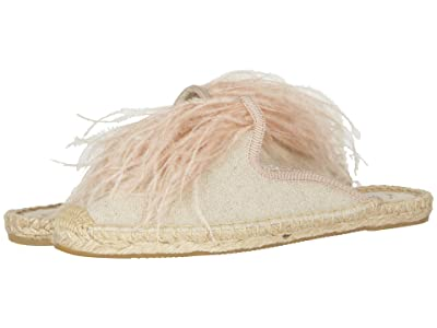 Soludos Feathers Mule (Sand) Women