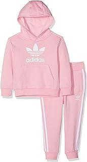36793b1b44e3c Amazon.fr : survetement fille adidas - Rose : Vêtements