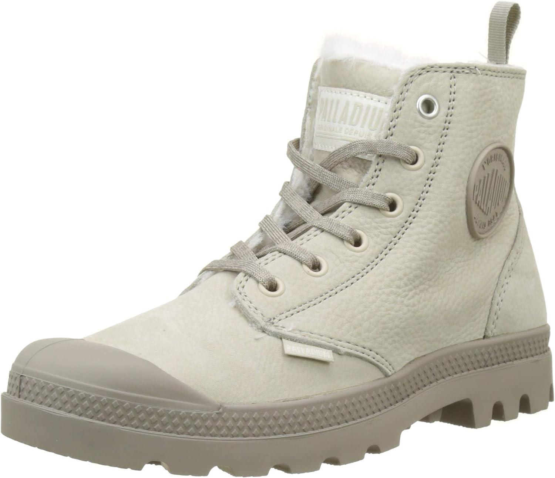 Palladium Pampa Hi Zip WL Womens Feather Grey Boots