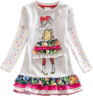 Winter Toddler Girl Clothes Cotton Long Sleeve Girls...