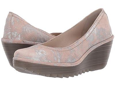 FLY LONDON Yoni (Rose Corcuma) High Heels