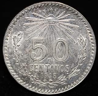1945 fifty centavos