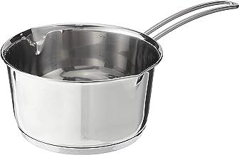 Kuchenprofi K2370502818 Stainless Saucepan/Butter Warmer Clad Bottom, 1.4-Quart, Silver